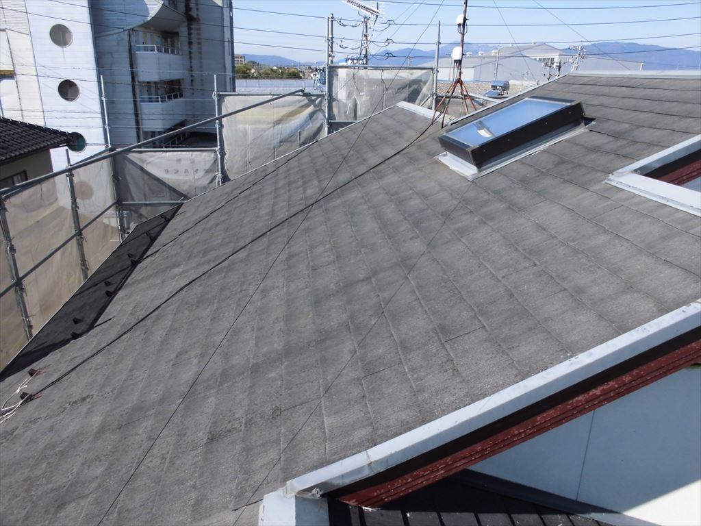 屋根のカバー工法1(Before)