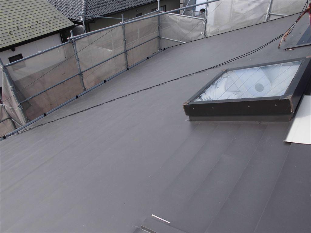 屋根のカバー工法1(After)