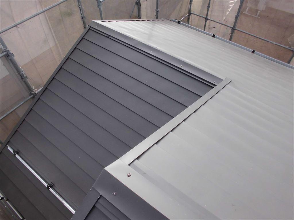 屋根のカバー工法2(After)